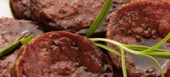 Salame cotto all'aceto balsamico