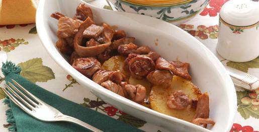 Rosticciata di vitello con patate