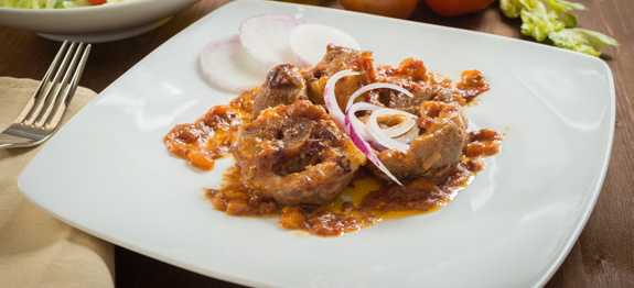 Ossibuchi in salsa