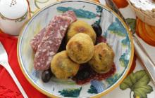 Crocchette alle salamelle e ortiche