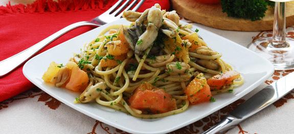 Spaghetti alle rane