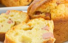 Muffin prosciutto e mozzarella