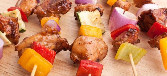 come cucinare spiedini di carne